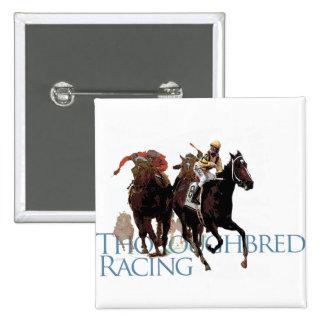 Regalos excelentes de la carrera de caballos pin