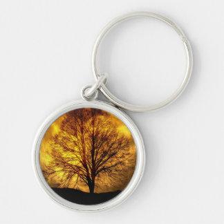 Regalos fantasmagóricos del destino del otoño del llaveros personalizados