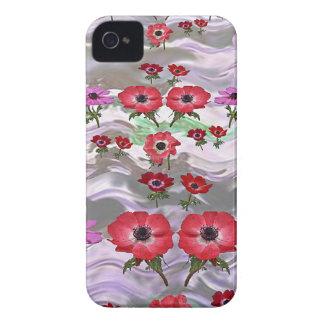Regalos florales de la flor elegante funda para iPhone 4