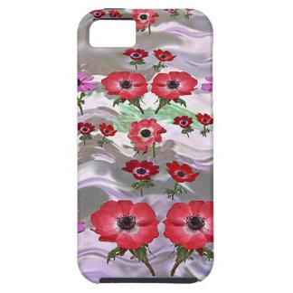 Regalos florales de la flor elegante funda para iPhone SE/5/5s