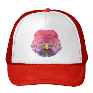 Regalos florales del día de madres de la abuela gorra