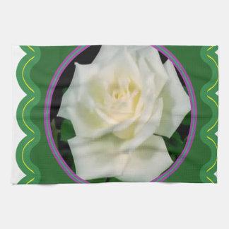 Regalos florales del gráfico 100 de la flor toallas de mano