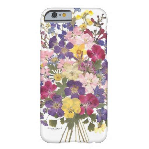 regalos florales funda de iPhone 6 barely there