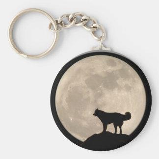 Regalos fornidos del perro del Malamute del husky  Llaveros Personalizados