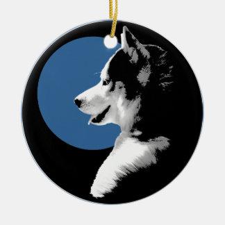 Regalos fornidos del perro del recuerdo del Malamu Adornos De Navidad