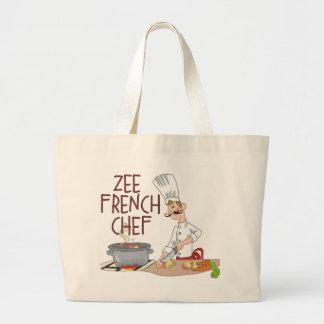 Regalos franceses divertidos del cocinero bolsas