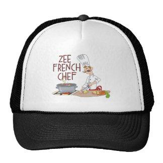 Regalos franceses divertidos del cocinero gorras