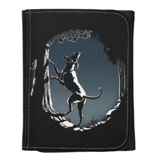 Regalos frescos de la cartera del arte del perro d