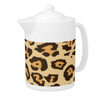 Regalos frescos del modelo del estampado leopardo