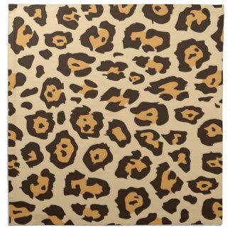 Regalos frescos del modelo del estampado leopardo  servilletas de papel