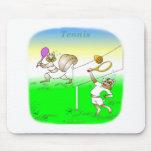 Regalos frescos del tenis para los niños alfombrillas de raton
