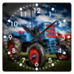 Regalos frescos del tractor de la antigüedad del r relojes de pared