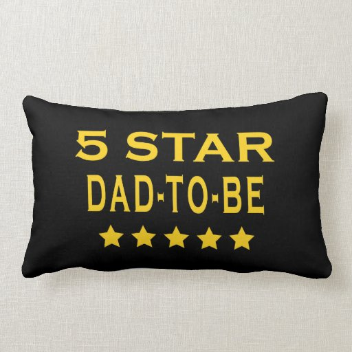 Regalos frescos divertidos: Papá de cinco estrella Almohadas
