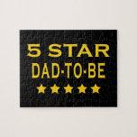 Regalos frescos divertidos: Papá de cinco estrella Rompecabeza Con Fotos