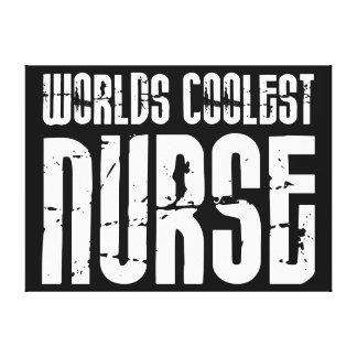 Regalos frescos para las enfermeras: La enfermera  Impresiones En Lona