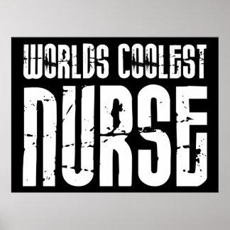 Regalos frescos para las enfermeras: La enfermera  Posters