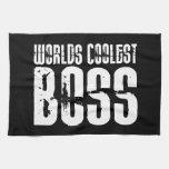 Regalos frescos para los jefes: Mundos Boss más fr Toallas De Mano