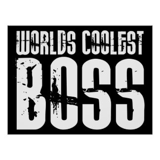 Regalos frescos para los jefes: Mundos Boss más fr Póster