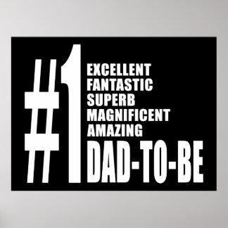 Regalos frescos para los papás futuros Papá del n Impresiones