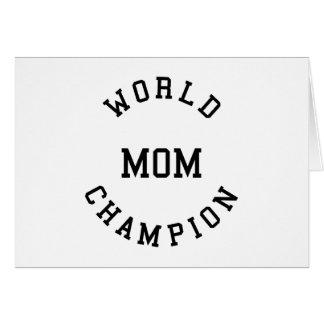 Regalos frescos retros para las mamáes: Mamá del c Tarjeta De Felicitación