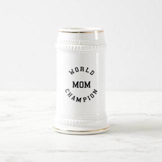 Regalos frescos retros para las mamáes: Mamá del c Jarra De Cerveza