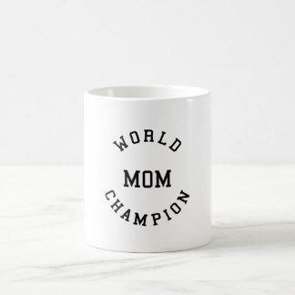Regalos frescos retros para las mamáes: Mamá del c Taza Básica Blanca