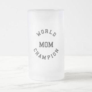 Regalos frescos retros para las mamáes: Mamá del c Taza Cristal Mate