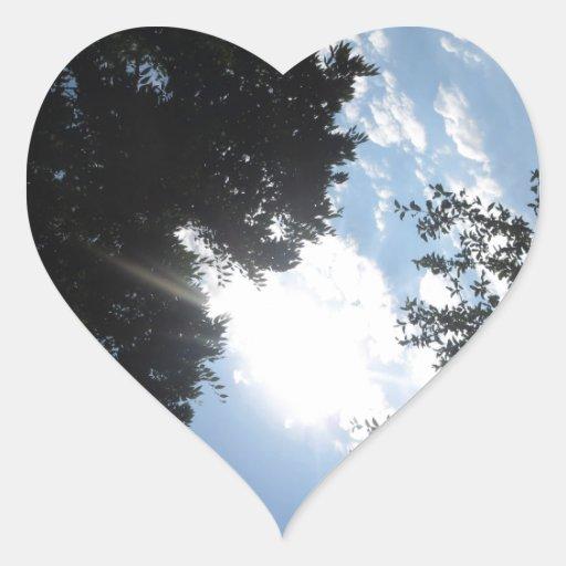 REGALOS FU de la foto NJ CherryHill América NVN667 Pegatina En Forma De Corazón