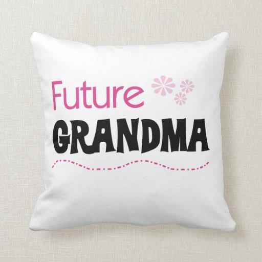Regalos futuros de la abuela almohadas