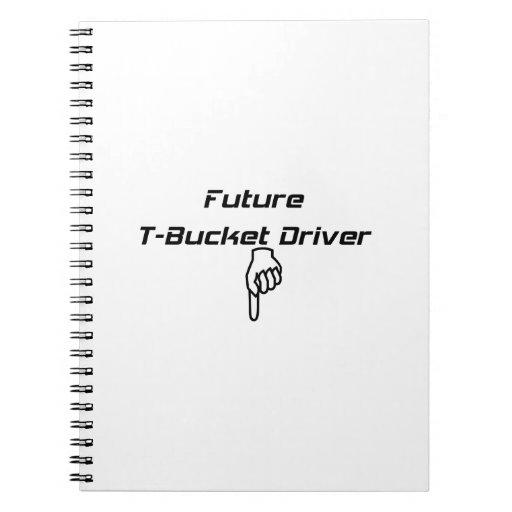 Regalos futuros de Tbucket DriverTbucket por Gear4 Libretas Espirales