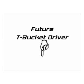 Regalos futuros de Tbucket DriverTbucket por Tarjeta Postal