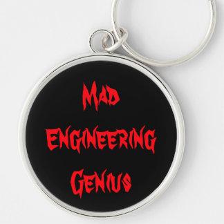 Regalos Geeky del empollón del friki del genio eno Llaveros Personalizados