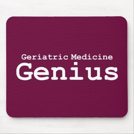 Regalos geriátricos del genio de la medicina tapetes de raton