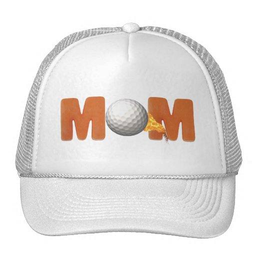 Regalos Golfing del día de madres de la mamá Gorro