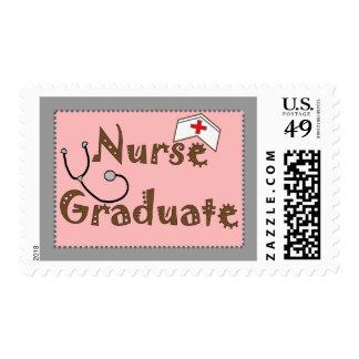 Regalos graduados de la enfermera estampillas