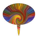 REGALOS gráficos 07 únicos del amor del arco iris Figura De Tarta