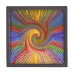 REGALOS gráficos 07 únicos del amor del arco iris Cajas De Regalo De Calidad