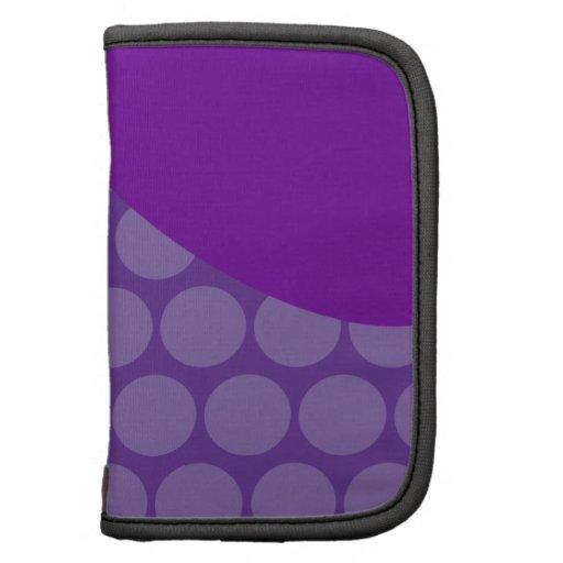 Regalos grandes púrpuras bonitos del modelo de ond organizadores