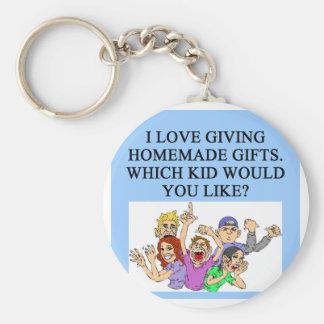 regalos hechos en casa del navidad llavero