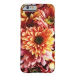 Regalos hermosos del diseño del ramo floral de la funda de iPhone 6 barely there