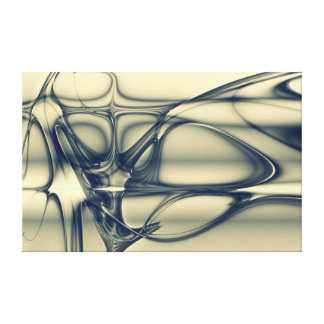 Regalos hermosos del fractal abstracto impresiones en lona estiradas