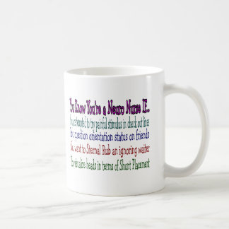 Regalos hilarantes de la enfermera de la taza