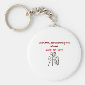 Regalos hilarantes de la enfermera llavero personalizado