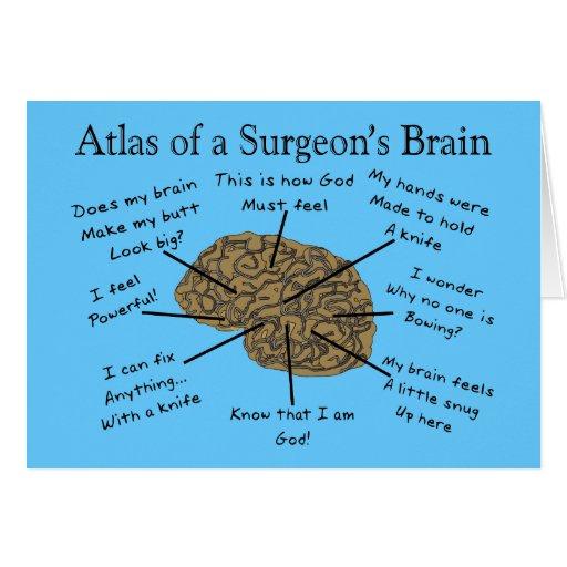 Regalos hilarantes del cirujano felicitación