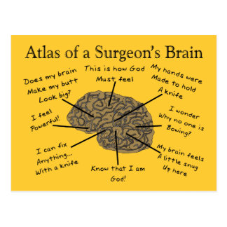 Regalos hilarantes del cirujano postal
