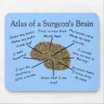Regalos hilarantes del cirujano alfombrilla de raton