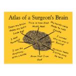 Regalos hilarantes del cirujano tarjeta postal
