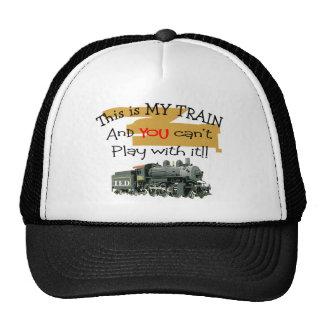 Regalos históricos del tren--Refranes hilarantes Gorros Bordados