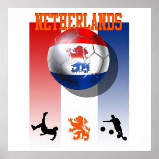 Regalos holandeses del fútbol del poster holandés
