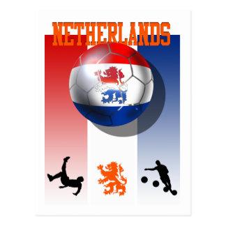 Regalos holandeses del fútbol del poster holandés  tarjeta postal